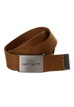 Carhartt - Clip Chrome Carhartt Brown - Belt