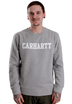 Carhartt - College Grey Heather/White - Sweater