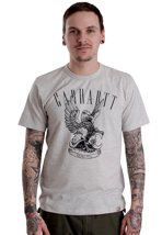 Carhartt - Dragon Light Grey Heather/Black - T-Shirt