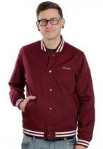Carhartt - Fan Cranberry - College Jacket