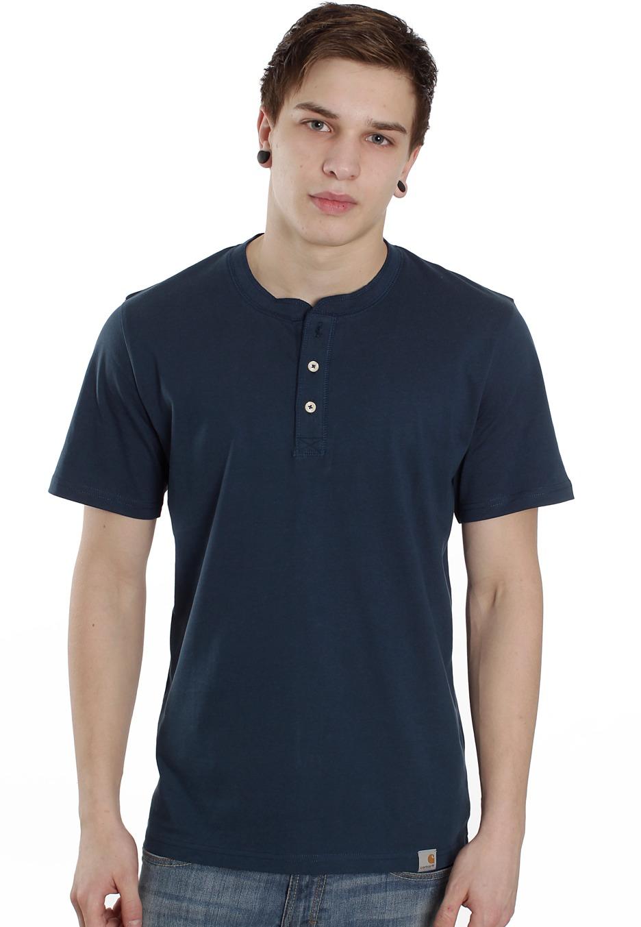 Carhartt wip henley federal t shirt streetwear shop for Whats a henley shirt