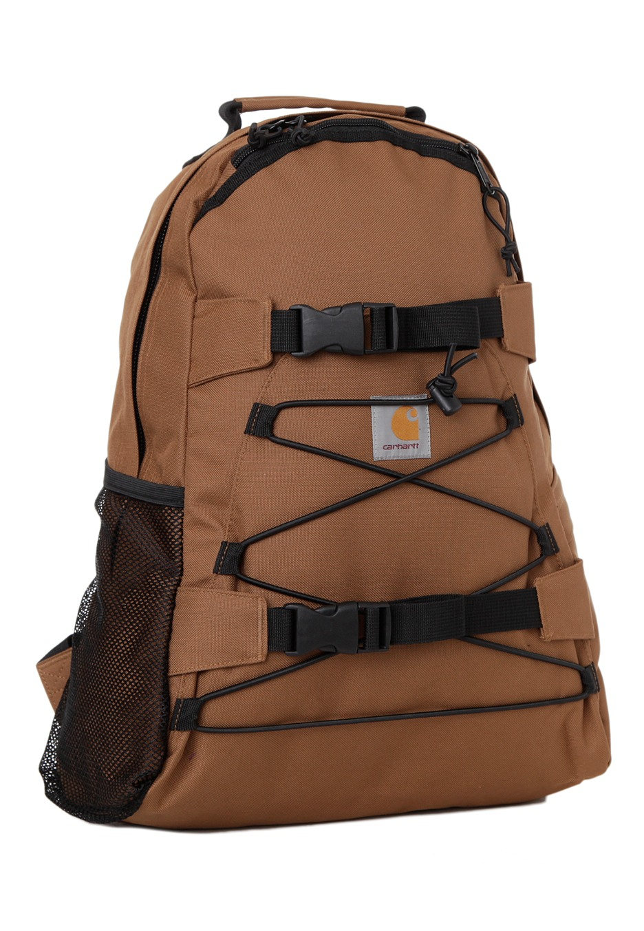carhartt wip kickflip carhartt brown sac a dos boutique streetwear fr. Black Bedroom Furniture Sets. Home Design Ideas