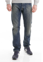 Carhartt - Klondike Edgewood Blue Coast Washed - Jeans