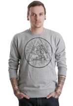 Carhartt - Lion Grey Heather/Black - Sweater