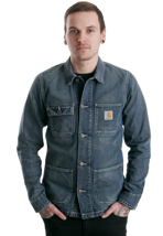 Carhartt - Michigan Blue Surf Washed - Jeans Jacket