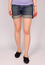 Carhartt - Oversized Leisure Bermuda Blue Coast Washed - Girl Shorts