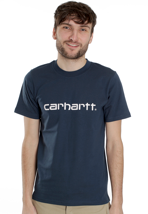 Carhartt - Script Federal/White - T-Shirt