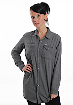 Carhartt - Woodstock Grey Stone Washed - Girl Shirt