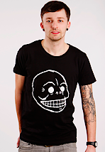 Cheap Monday - Bruce Printed Skull - T-Shirt