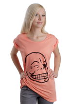 Cheap Monday - Easy Flirt Skull Peach - Girly