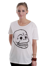 Cheap Monday - Easy Skull White - Girly