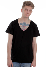 Cheap Monday - Fuhua - V Neck T-Shirt