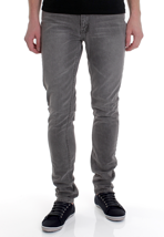 Cheap Monday - High Slim Washed Grey - Jeans