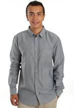 Cheap Monday - Loose Pocket Blue Oxford - Shirt