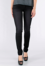Cheap Monday - Narrow Satin Used Black - Girl Jeans