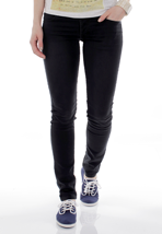 Cheap Monday - Narrow Tonki Used Black - Girl Jeans