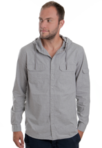 Cheap Monday - Ryota Light Grey - Hooded Shirt