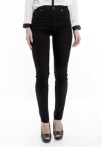 Cheap Monday - Second Skin Very Stretch Black - Girl Jeans
