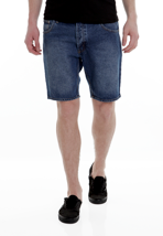 Cheap Monday - Short Five Open Blue - Shorts