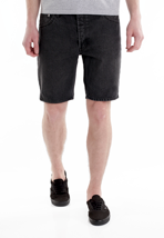 Cheap Monday - Short Five Washed Black - Shorts