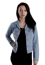 Cheap Monday - Tess Light Trash - Girl Jeans Jacket