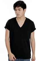 Cheap Monday - Tim - V Neck T-Shirt