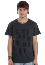 Cheap Monday - Tor Disarray Washed Black - T-Shirt