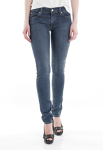 Cheap Monday - Zip Low Blue Rinse - Girl Jeans