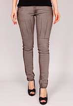 Cheap Monday - Zip Low Flame Grey - Girl Jeans