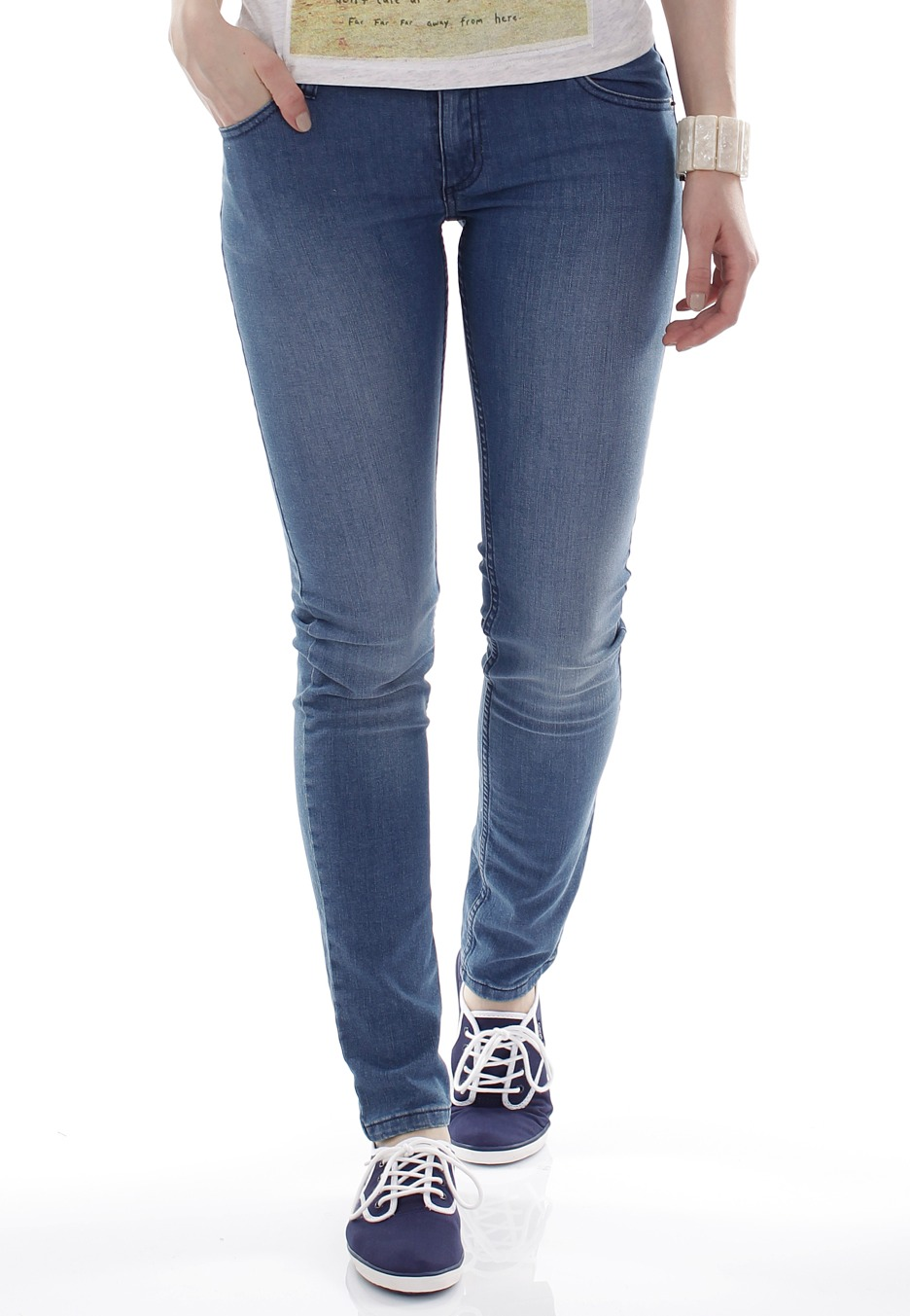 Cheap Monday - Zip Low Mahmud Medium - Girl Jeans - Impericon.com