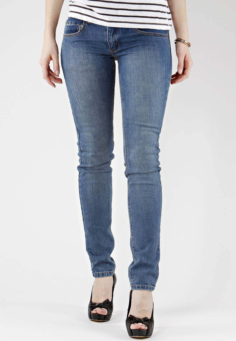 Cheapmonday ziplowusa blue girl jeans | Leggings Tights Jeans u0026 Socks | Pinterest | Jeans The ...