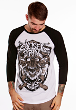 Chelsea Grin - Bearded White/Black - Longsleeve