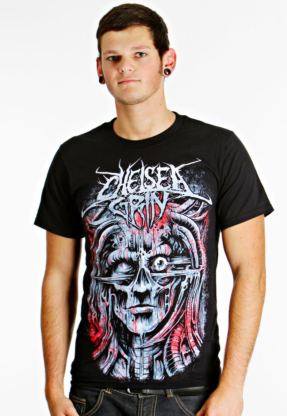 chelsea grin biomechanical t shirt official deathcore merchandise shop uk. Black Bedroom Furniture Sets. Home Design Ideas