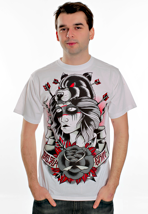 Chelsea Grin - Indian Girl White - T-Shirt