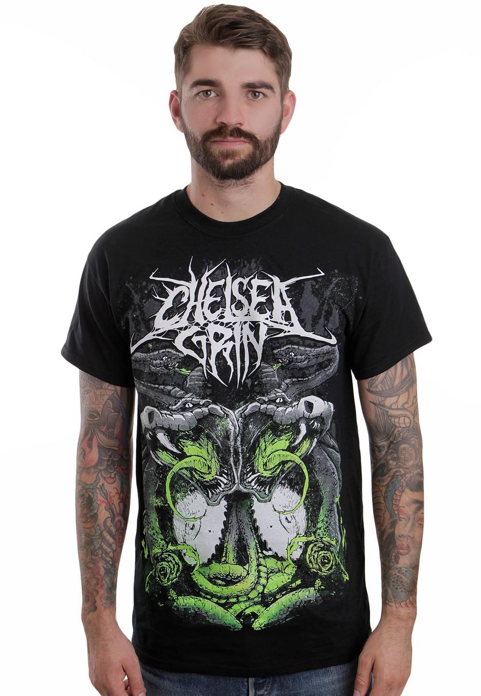 chelsea grin snakes t shirt official deathcore merchandise shop worldwide. Black Bedroom Furniture Sets. Home Design Ideas