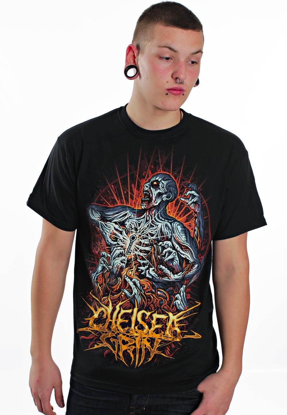 chelsea grin the key t shirt official deathcore merchandise shop worldwide. Black Bedroom Furniture Sets. Home Design Ideas