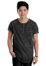 Cleptomanicx - Ace II Dark Grey - T-Shirt