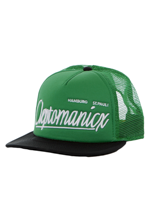 Cleptomanicx - Barrio Black/Kelly - Trucker Cap