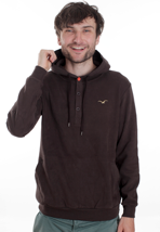 Cleptomanicx - Emilio II Dark Brown - Hoodie