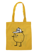 Cleptomanicx - Jute Zitrone Yellow - Tote Bag