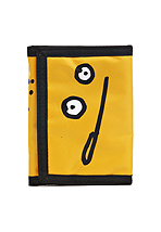 Cleptomanicx - Velcro Zitrone Yellow - Wallet