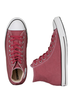 Converse - All Star Basic Washed Hi Can Jester Red - Shoes