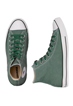 Converse - All Star Basic Washed Hi Can Pine Green - Shoes