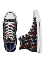 Converse - All Star Hi Can Hearts Print - Girl Shoes
