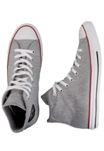Converse - All Star Hi Sweat Grey/Red/Black - Shoes