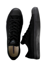 Converse - All Star Ox Can Black Mono - Girl Shoes