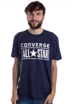 Converse - Basic License Plate Dress Blues - T-Shirt