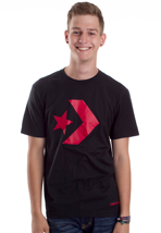 Converse - Basic Star Chevron Jet Black - T-Shirt