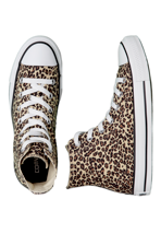 Converse - CT All Star Specialty Hi Leopard Print - Girl Shoes