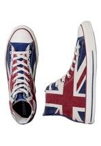 Converse - CT All Star Union Jack Hi UK Flag Distressed - Shoes